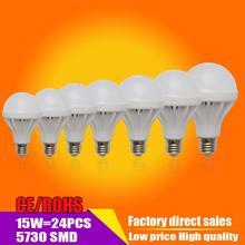 Оптовая продажа из светодиодов E27 3 Вт 5 Вт 7 Вт 9 Вт 10 Вт 12 Вт 15 Вт 18 Вт 20 Вт из светодиодов лампа в22 110 В 220 В холодной теплый белый шарик из светодиодов освещение освещение