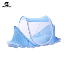 Summer Fabric Baby Playpen Foldable Baby Bed Portable With Netting Crib Traversl Cot Bassinet Portable For Single Infant Bedding(China)