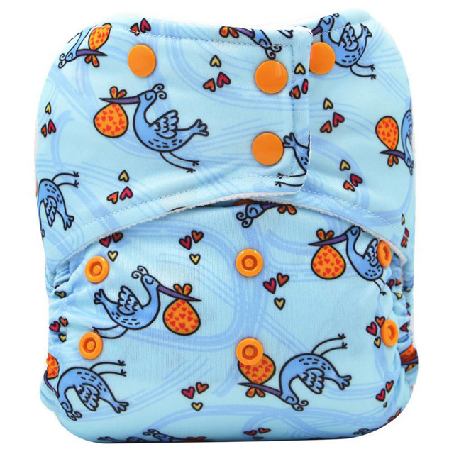 fc4ebff9f AI2 Cloth Diaper 5pcs set Washable All In One Size Reusable Nappy ...