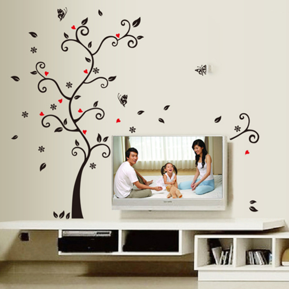 Diy family photo frame tree wall sticker home decor living room diy family photo frame tree wall sticker home decor living room bedroom wall decals poster home decoration wallpaper room decals in wall stickers from home amipublicfo Choice Image