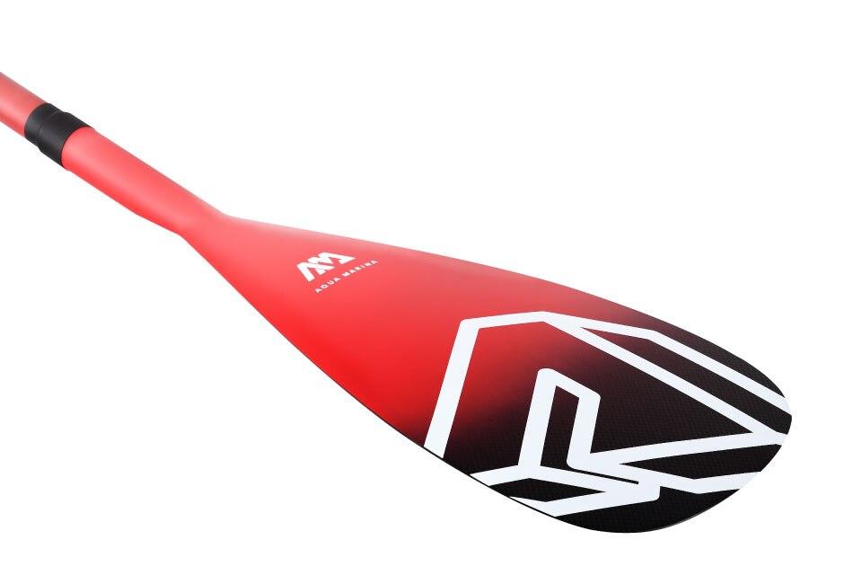 2019 Aquamarina Nouveau design 3 pièces réglable 100% en fiber de carbone pro Surf paddle rame sup paldlde