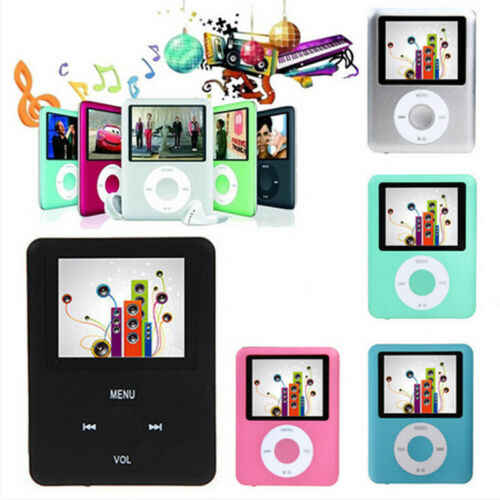 "Mini 1.8"" LCD Screen Media Video Game Movie Radio FM 3th MP3 MP4 Player+Earphone"