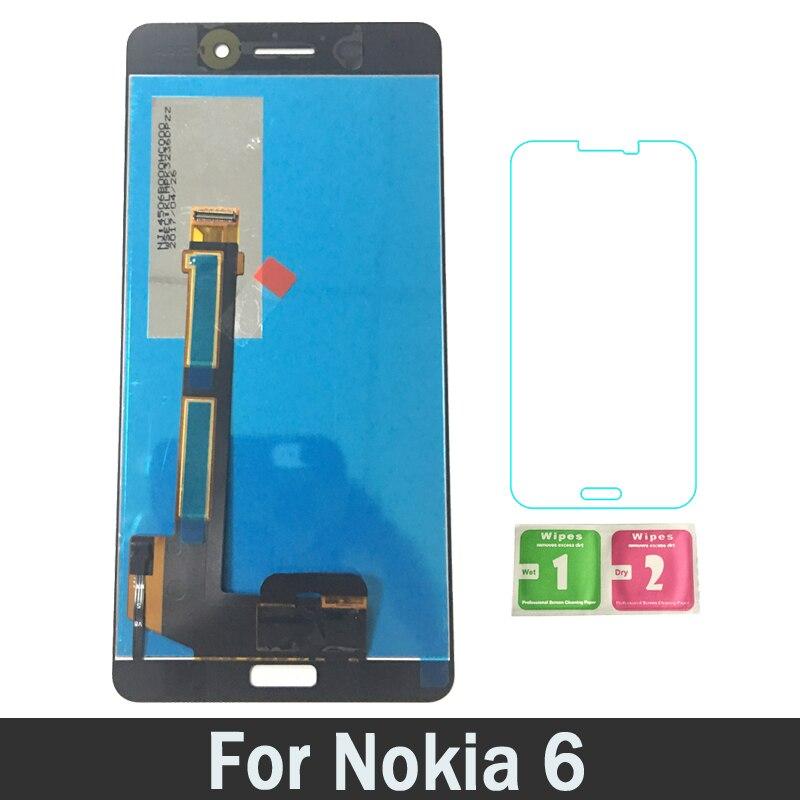 Nouveau LCD écran tactile numériseur assemblée LCD pour NOKIA 6 TA-1021 TA-1033 TA-1025 pièces de rechange 100% testé