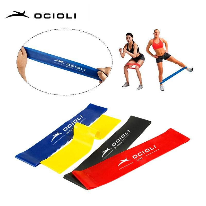 Aliexpress.com : Buy Fitness Resistance Band Set 4 Levels