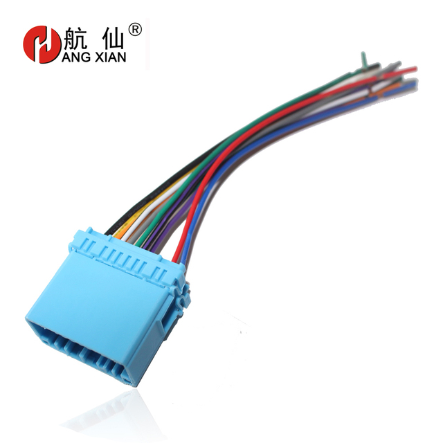 US $607 12 OFFCar Stereo Female ISO Radio Plug Power Adapter Wiring  Harness Special For Suzuki swift, Grand Vitara ISO harness power cable-in  GPS