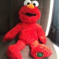 1 pcs 68 CM = 27 ''Tamanho Grande Original Sesame Street Elmo Elmo De Pelúcia Brinquedo Macio Boneca de Pelúcia Vermelho