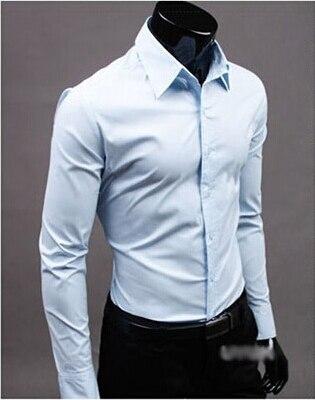 Aliexpress.com : Buy High Quality Colorful White Shirt Men Shirt ...