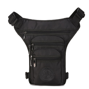 Men Waterproof Nylon Drop Leg Bag Waist