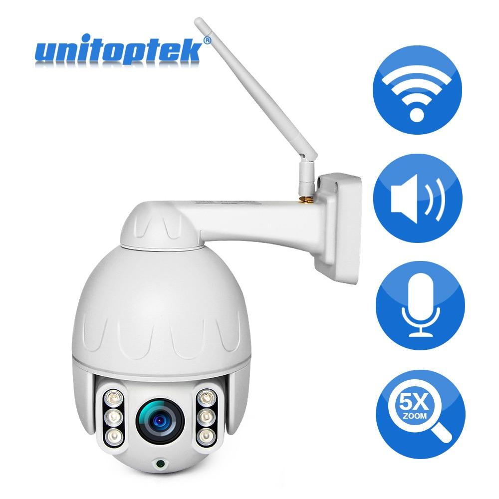 Mini 1080P PTZ Dome IP Camera 5X Optical Zoom Wireless Outdoor Network Camera
