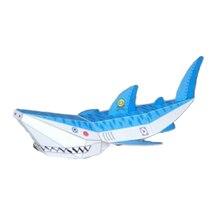 DIY лома украшения Бумага d'haruki Накамура Бумага Игрушки Осьминог в виде пасти акулы Плавание удовлетворить Киригами Pliage decouvrez Adorables Бумага игрушки