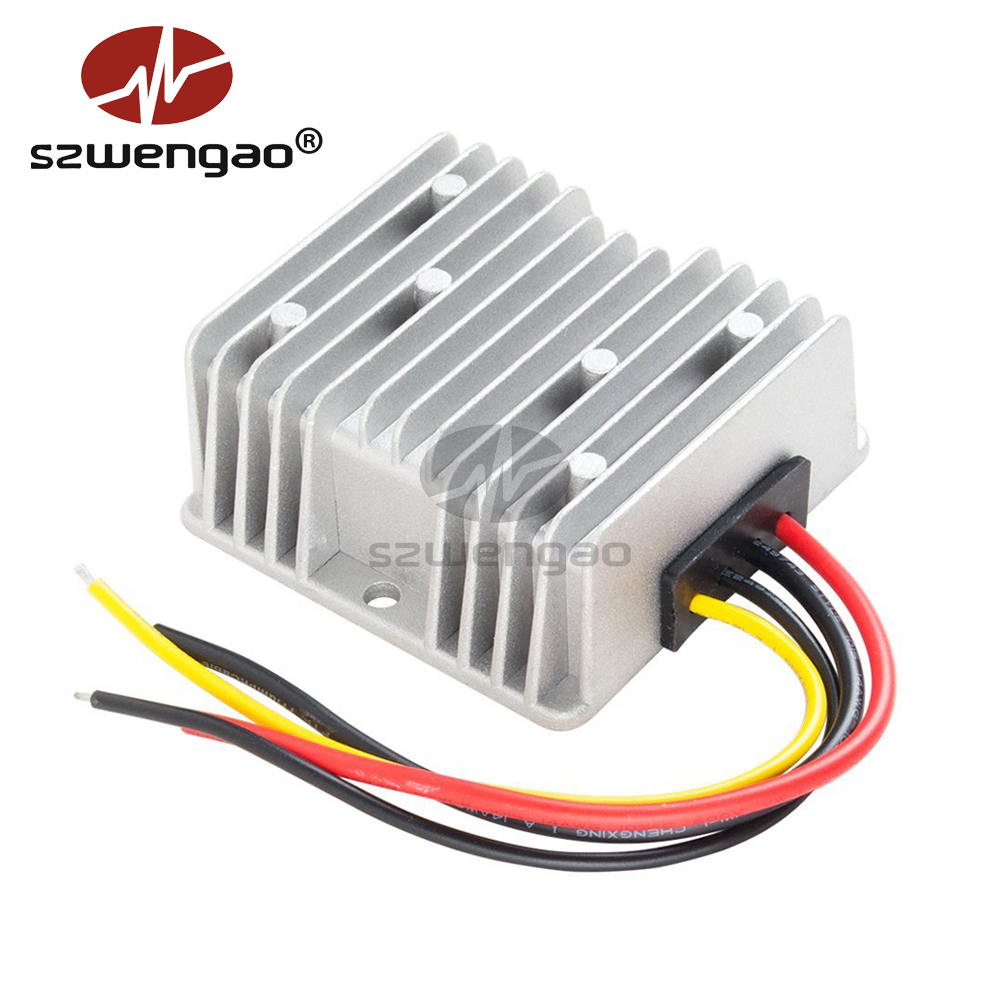 Waterproof DC-DC Buck Converter Step Down Module for Car Power Supply 24V to 12V