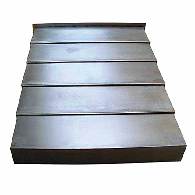 steel shield machine tool accessories guide shield retractable cover sheet metal sheet metal modular machine tool - Sheet Metal Cover