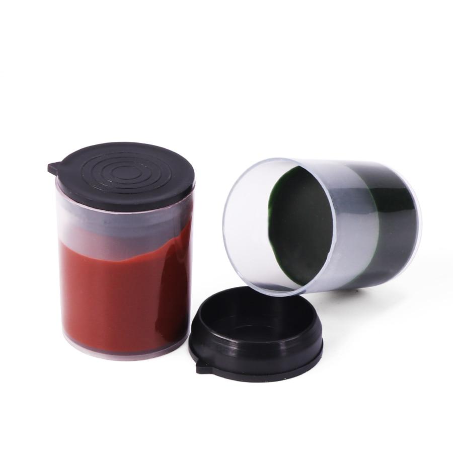 Green Polishing Paste Chromium Oxide Grinding Paste Abrasive Paste With Bottle 27*35mm For Polishing Wool Tools 1pcs