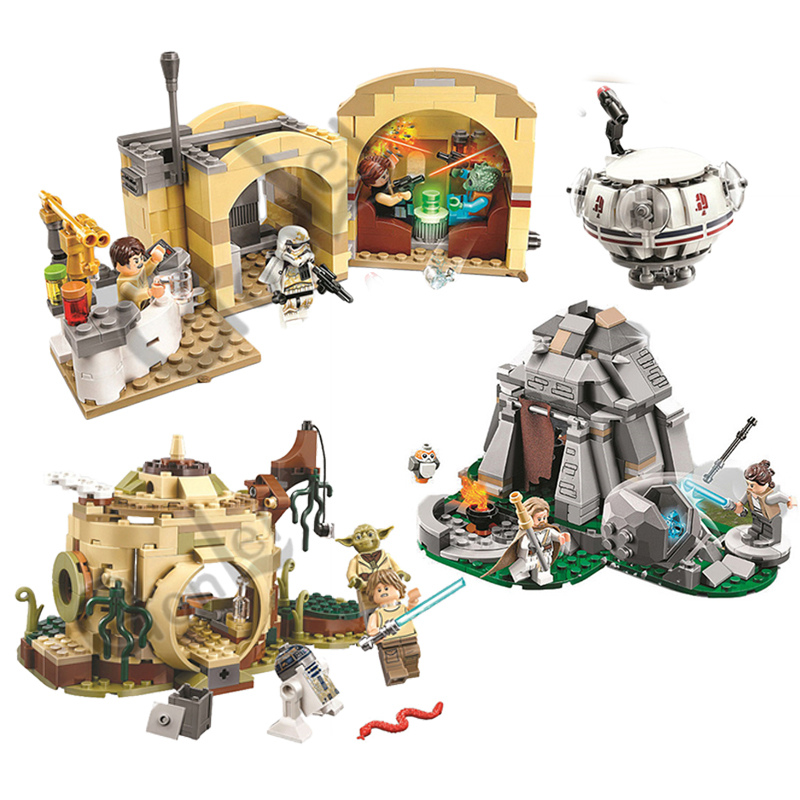 NEW 10905 Star Wars Series Mos Eisley Cantina Building Block 400pcs Bricks Toys Compatible With LEGOING Free Shipping