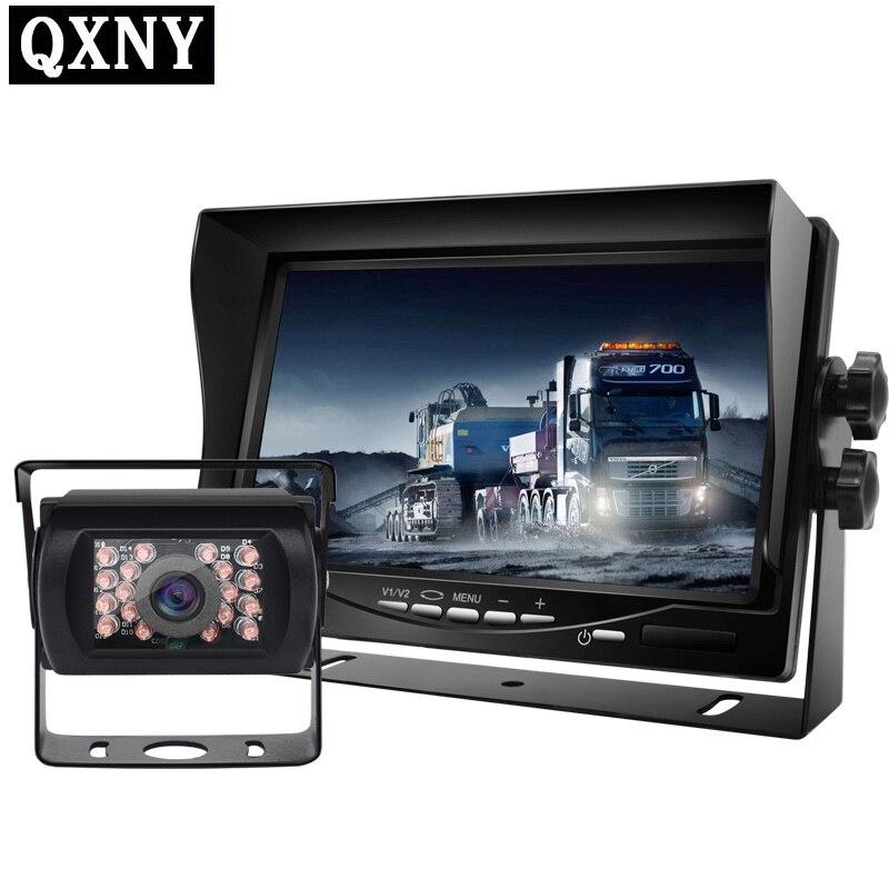 Opinião DO CARRO câmera de Alta definição 7 polegada digital LCD monitor do carro, ideal para a exibição de DVD, para RV Truck Bus Sistema de Assistência de Estacionamento