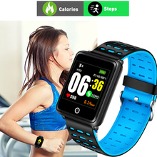 Fitness Smart Bracelet Men Women LED Screen Heart Rate Monitor Blood Pressure Touch Waterproof Sport Watch Wrist For Android ios цена