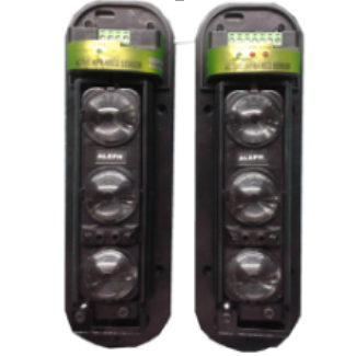 Three Beam Sensor Active Infrared Intrusion Detector safety window wall barrier outdoor 250M motion IR alarm