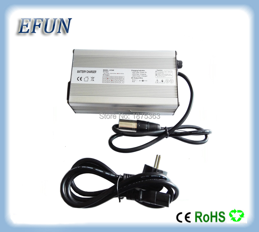 Free shipping 13S 48V 10Ah 14Ah 20Ah Li ion battery charger 48V 3A 54 6V 3A