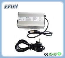 Livraison gratuite 13 S 48 V 10Ah/14Ah/20Ah Li-ion batterie chargeur 48 V 3A 54.6 V 3A chargeur pour 48 V vélo électrique batterie rechargeable