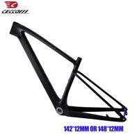 2019 новая модель углерода mtb рама 27,5/29er T1000 UD углеродное крепежная рама для горного велосипеда 135*9 мм 142/148*12 мм сменными