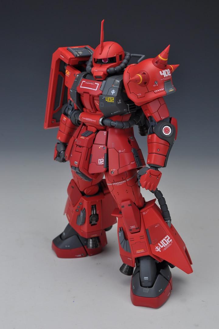SIDE3 GK Suite de remodelage pour MG 1/100 Zaku II Gundam costume Mobile enfants jouets-in Jeux d'action et figurines from Jeux et loisirs    2