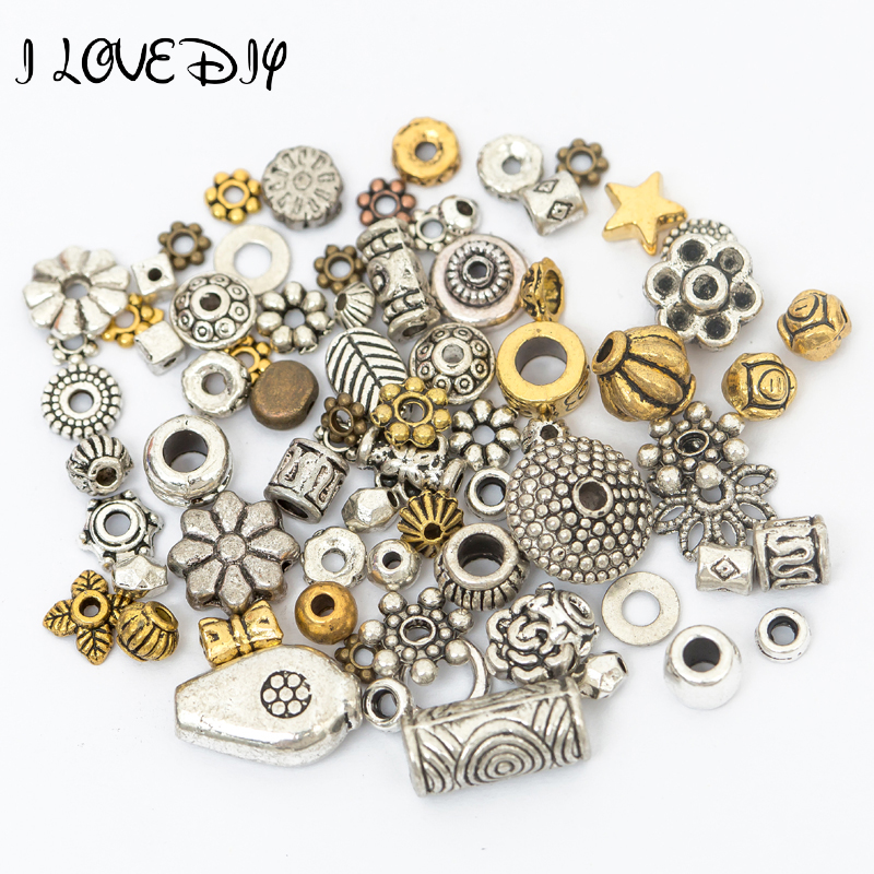 Wholesale 4MM Tibetan Antique Style Silver Tone Heart Spacer Loose Beads 100PCS.
