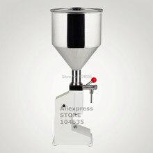 Высокое Качество ручная машина для наполнения еды под давлением машина для наполнения жидкого крема 1-50 мл