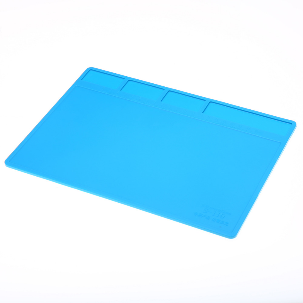 1pc Heat-resistant Soldering Mat Insulation Silicone Soldering Pad Maintenance Platform Repair Tool