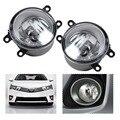 2 pcs luz de Nevoeiro Conjunto Da Lâmpada Direita + Esquerda Para Toyota Camry Corolla RAV4 Yaris LX570 Lexus LX570 RX350 RX450h HS250h GS350 GS450h IS-F