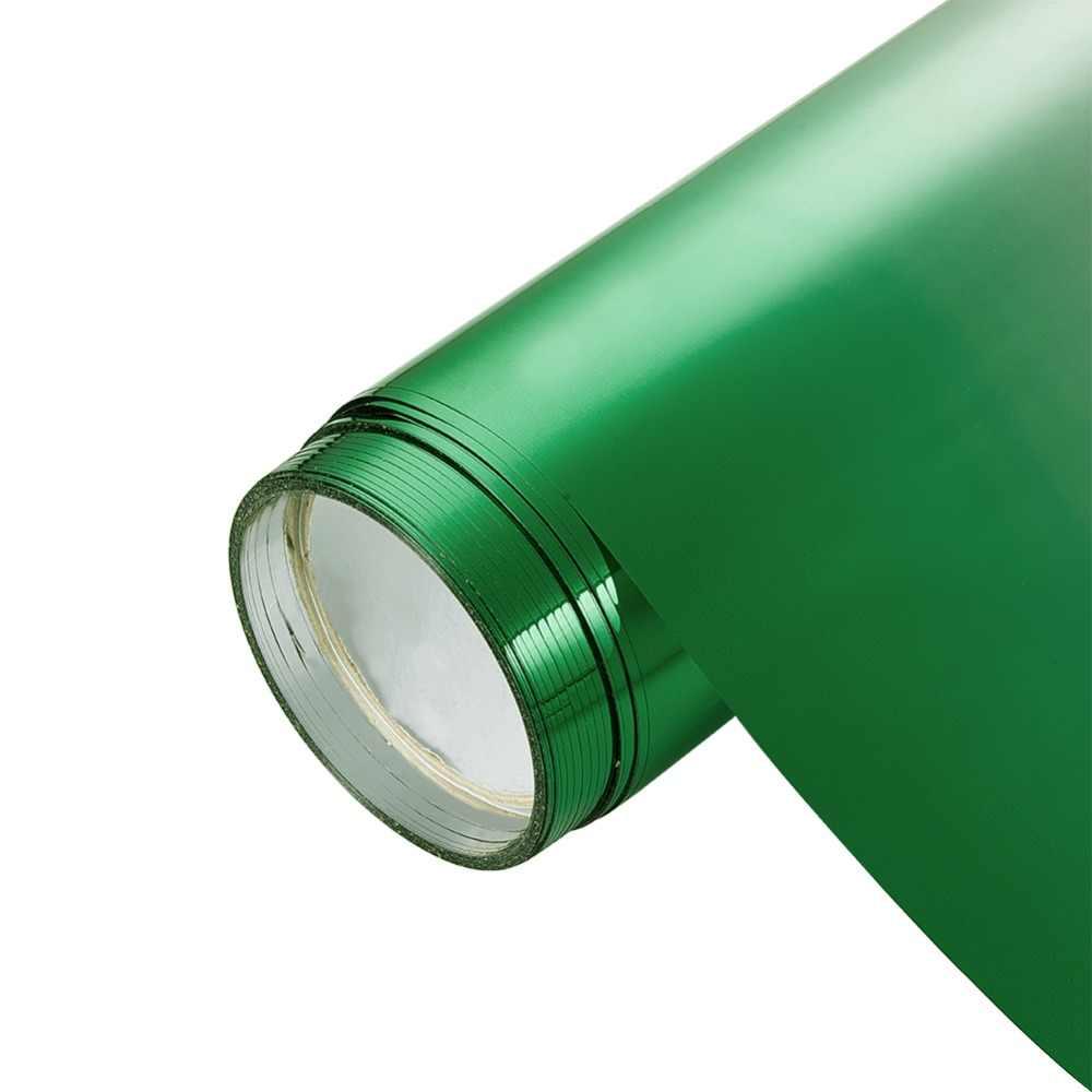 กระจกบังลม PVC Tinted ฟิล์ม Gradient สีเขียวด้านหน้าหน้าต่างพลังงานแสงอาทิตย์ป้องกันรถสติกเกอร์