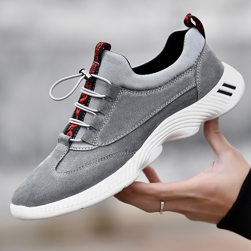 HEINRICH Sneakers Men's Genuine Leather Fashion Brand Men Shoes Breathable Men Casual Shoes Footwear Male Chaussure Ete Homme