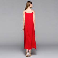 new silk cotton blend spaghetti strap long thin underskirt solid all match plus size full slip multi colors