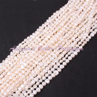 Wholesale 50 Strand Freshwater Pearl Irregular Loose Natural Stone Beads For Jewelry Making DIY Necklace Bracelet 5 7mm 14