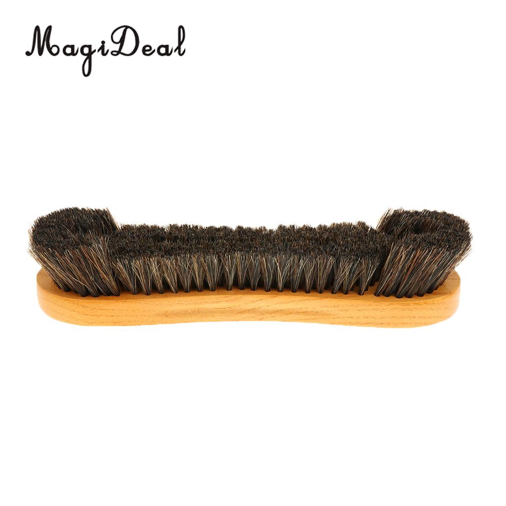 MagiDeal Wooden Pool Snooker Billiard Table Brush Clean Synthetic Horse Hair Bristle