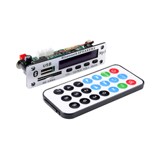 Bluetooth MP3 Player APE Decoder Board 12V Wireless Audio Module Color Screen USB MP3 Lossless Music Player Decoding For Car цены онлайн
