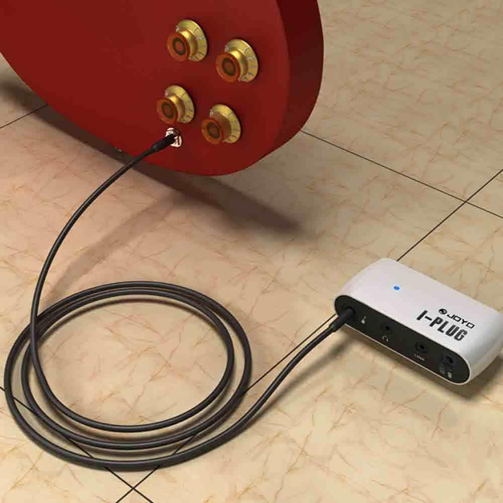 JOYO Aku-Plug Gitar Listrik Mini Headphone Amp Amplifier Built-In Overdrive Efek Promosi