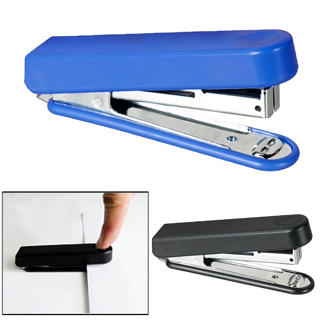 FangNymph Metal Mini Safe Stapler Without Staples Staple Free Stapleless Capacity For Paper Binding Business School Office