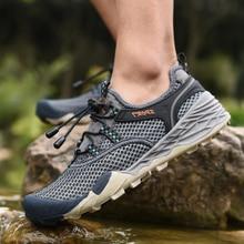 BACKCAMEL vasaros atsitiktiniai vyriški batai, kvėpuojantys tinkleliai, ultravioletiniai, vandeniui atsparūs greitai džiūstančios paplūdimys, lauko neslidžios bėgimo bateliai