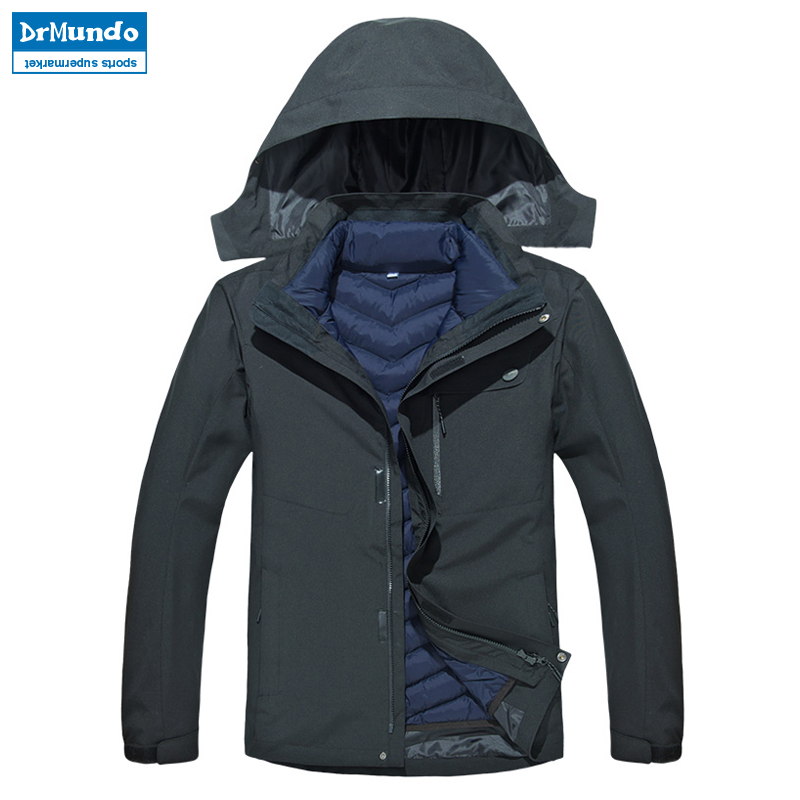 Men Waterproof Mountain Ski Jacket Hiking Warm Plus Size Cotton Ski-wear Outdoor Snowboard Jacket Windproof Snow Coat -30 degreeMen Waterproof Mountain Ski Jacket Hiking Warm Plus Size Cotton Ski-wear Outdoor Snowboard Jacket Windproof Snow Coat -30 degree