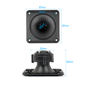Image 4 - Aiyima Audio Speakers 2PC Piezoelectric Tweeter 87*87MM Loudspeaker Piezo Tweeter Treble Audio Speaker DIY