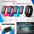 Waterproof Smart Wristband Heart Rate Monitor Pedometer Altitude Atmospheric pressure Meter Thermometer Sports & Fitness Tracker