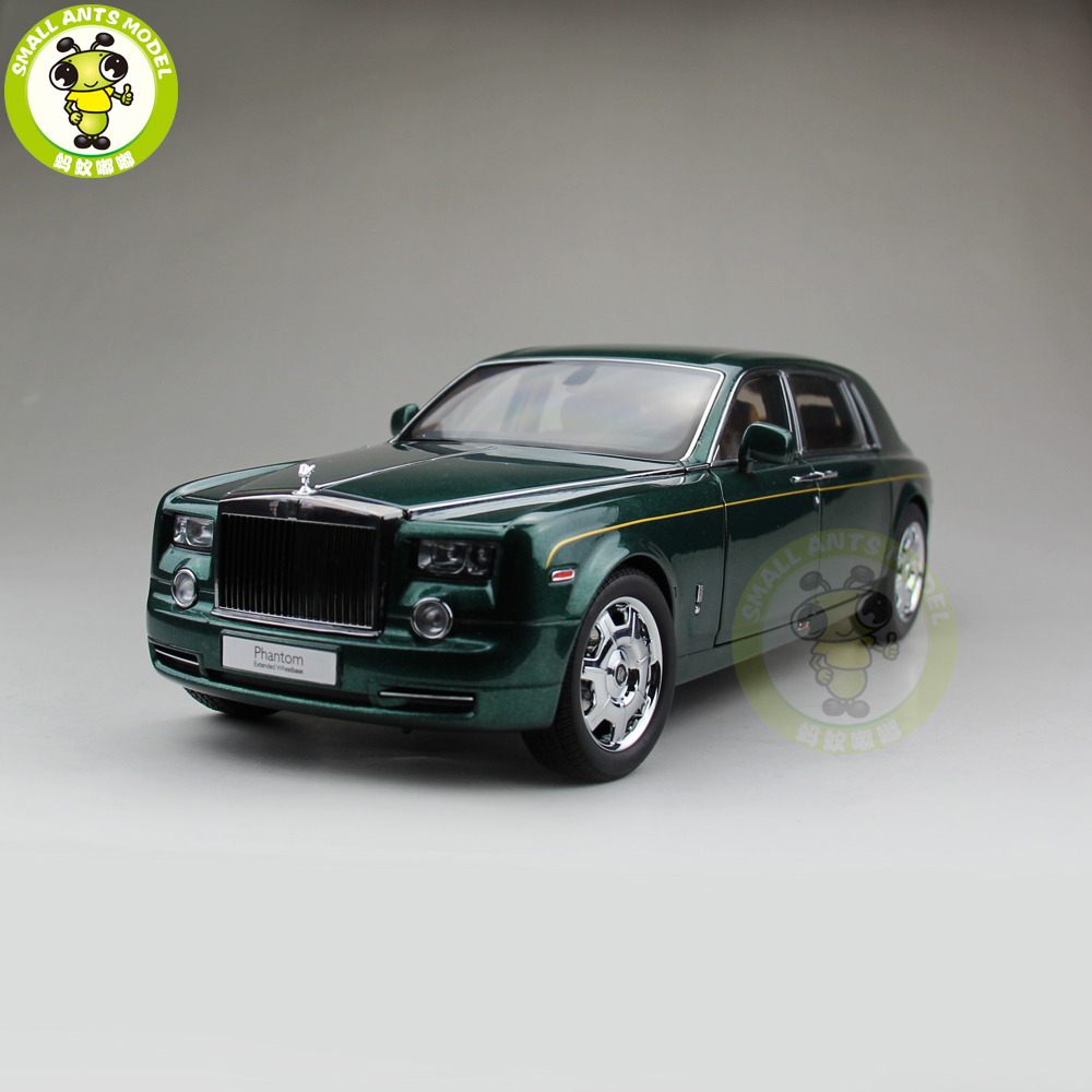 1 18 kyosho rolls royce phantom extended wheelbase diecast. Black Bedroom Furniture Sets. Home Design Ideas