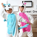 Детей малыш мужская пижама косплей костюм животных единорог пижамы Onesie пижамы