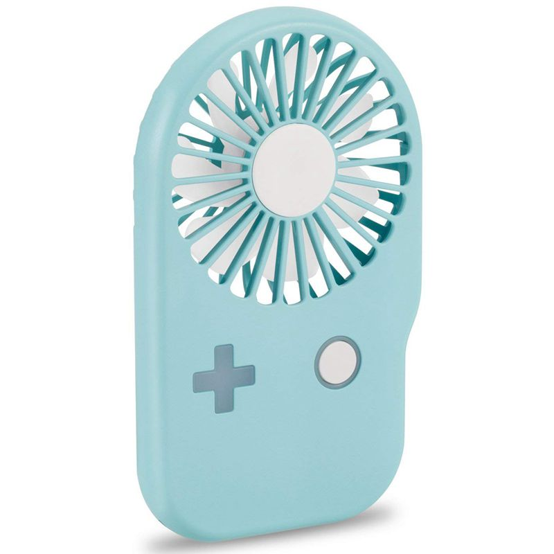 Mini USB Charging Game Machine Fan Outdoor Portable Thin Handheld Creative Pocket Fan