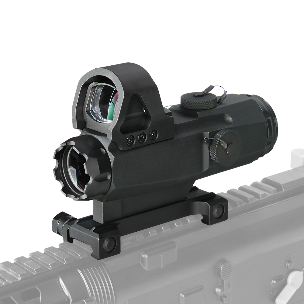 Canis Latrans Tactical 4x24mm Rifle Scope with Mark 4 High Accuracy Multi-Range Riflescope HAMR For Outdoor Hunting gs1-0403
