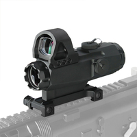 Canis Latrans Tactical 4x24mm Rifle Scope with Mark 4 High Accuracy Multi Range Riflescope HAMR For Outdoor Hunting gs1 0403