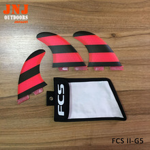 FREE SHIPPING FCS II G5 M fins FCS base surfboard thrusters made of fiberglass and honeycomb with a fcs bag