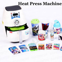 Shipping by DHL Hot sale 1 SET ST-1520 3D Mini Sublimation Vacuum Machine Heat Press Machine For Phone Case or Cover Mug Cups  3 in 1 small light mug press machine digital heat press machine sublimation mug machine heat press for 11oz 12oz 17oz mugs cups