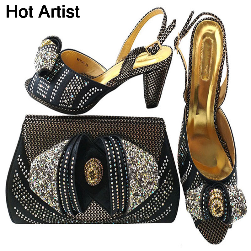 Hot Artist Nigeria Style Woman Middle Heels Shoes And Bag Set For Wedding Party Italian Pumps Party Shoes And Bag Set MM1045 banking reforms and banks stability in nigeria 1986 2009