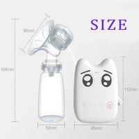 DIY Akıllı USB elektrikli meme BPA Ücretsiz Meme besleme Meme süt suckers pompalar